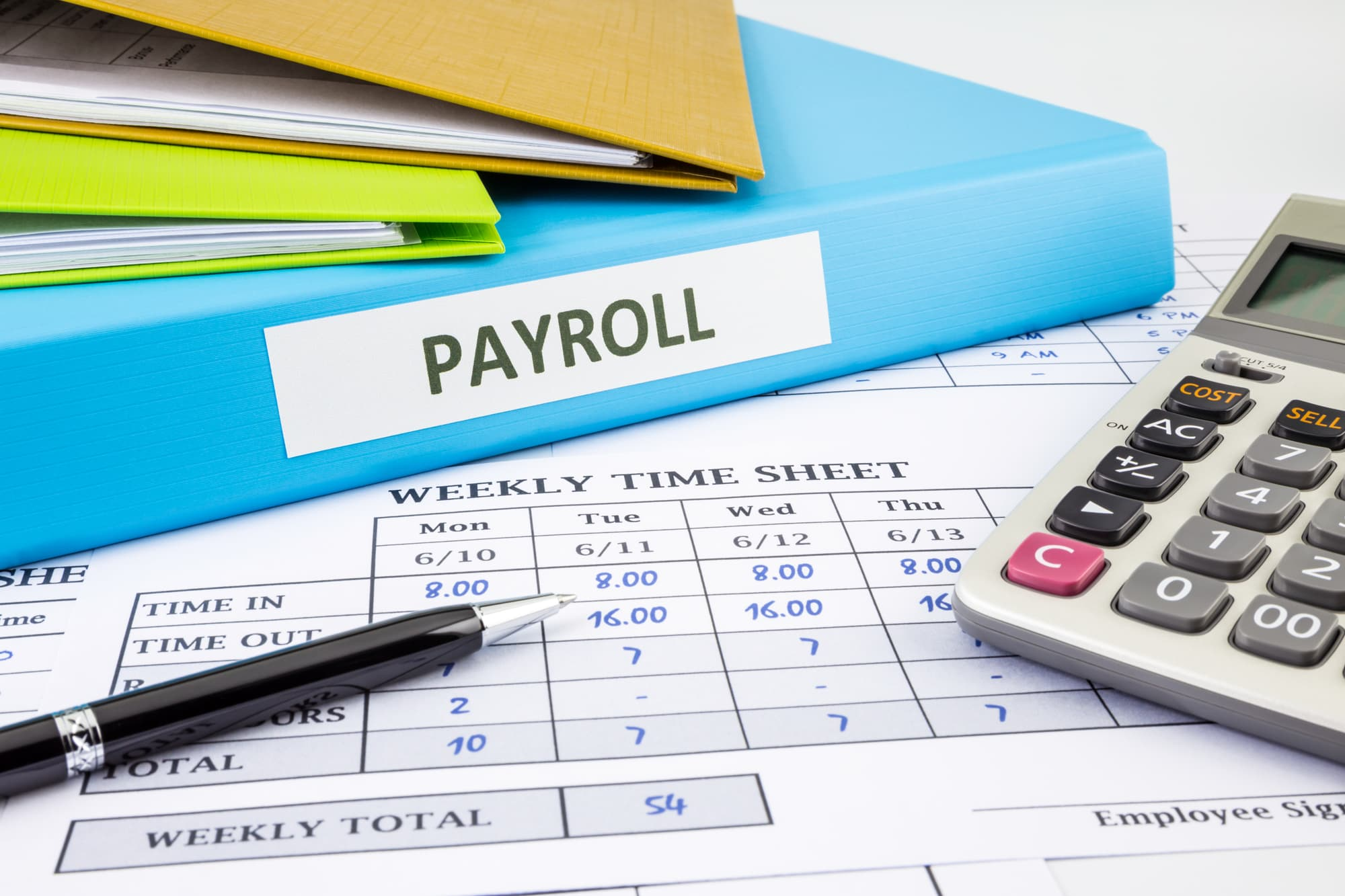 Payroll-the-old-way