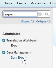 Search-for-Data-Export-