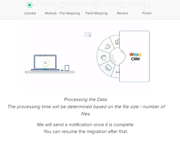 ZOHO-analyzing-files-before-Migration-Migration-Setup