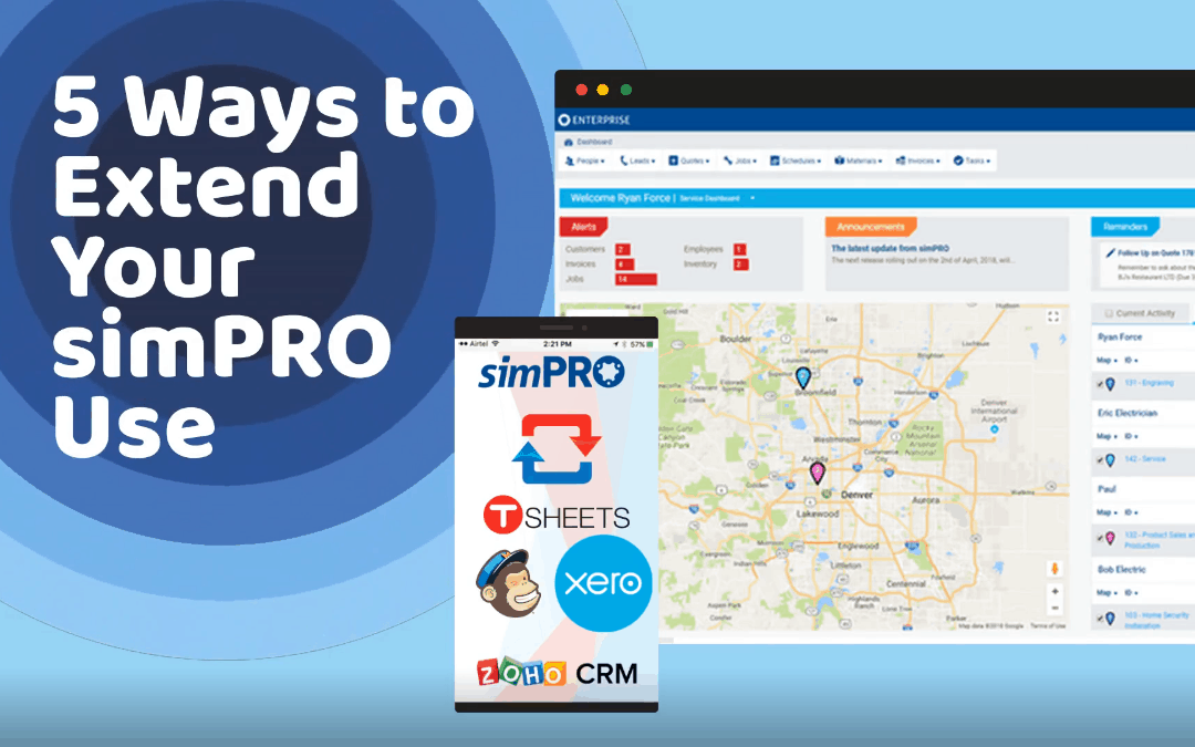 5 Ways to Extend Your simPRO Use