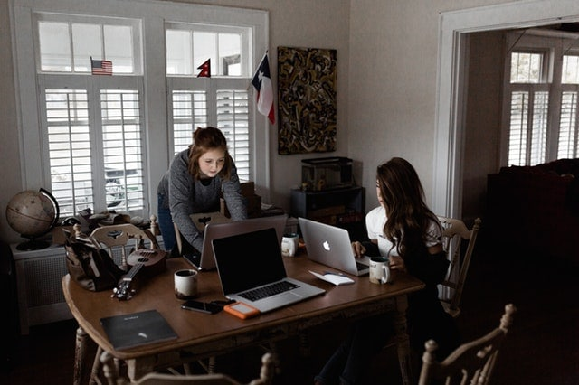 photo-of-women-using-laptops