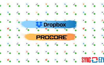 Spotlighted in Dropbox Marketplace! SyncEzy's Procore to Dropbox Integration