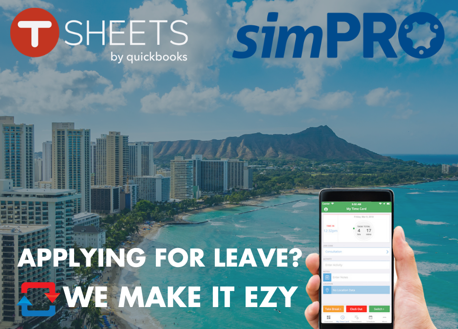 simPRO Leave Approval Just Got Easier with Tsheets