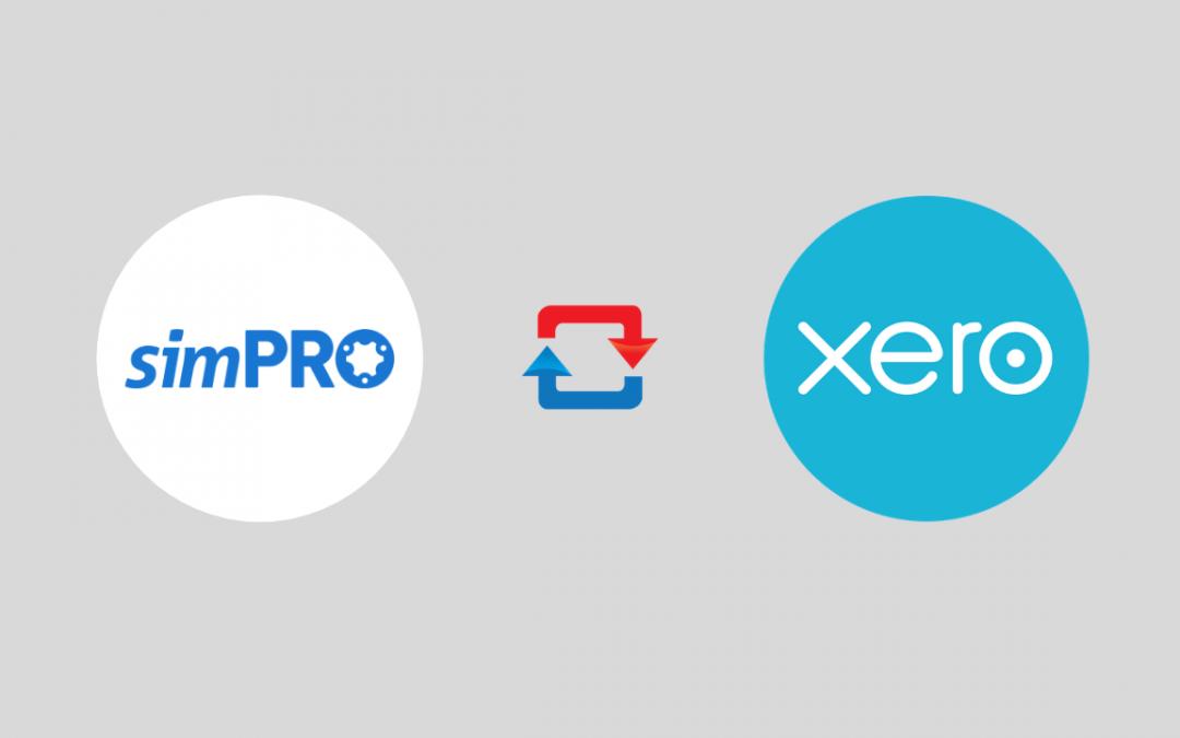 simPRO connected to Xero