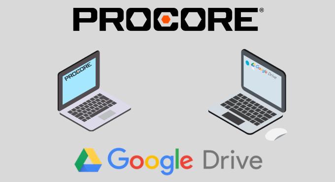 Procore to Google Drive Integration: Walkthrough