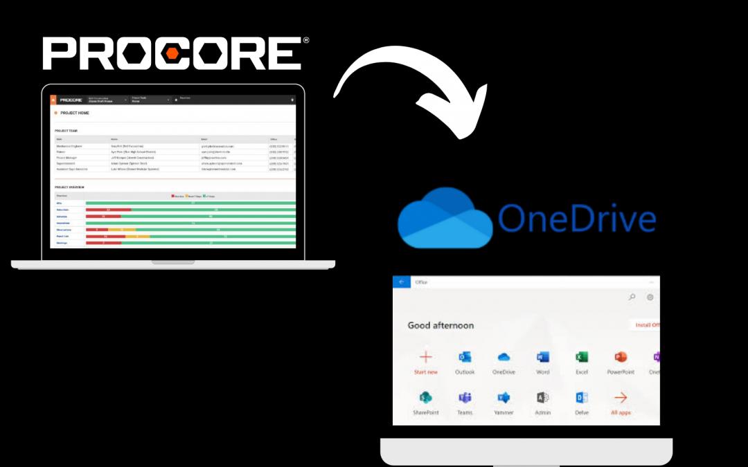 Procore to OneDrive Integration: Walkthrough