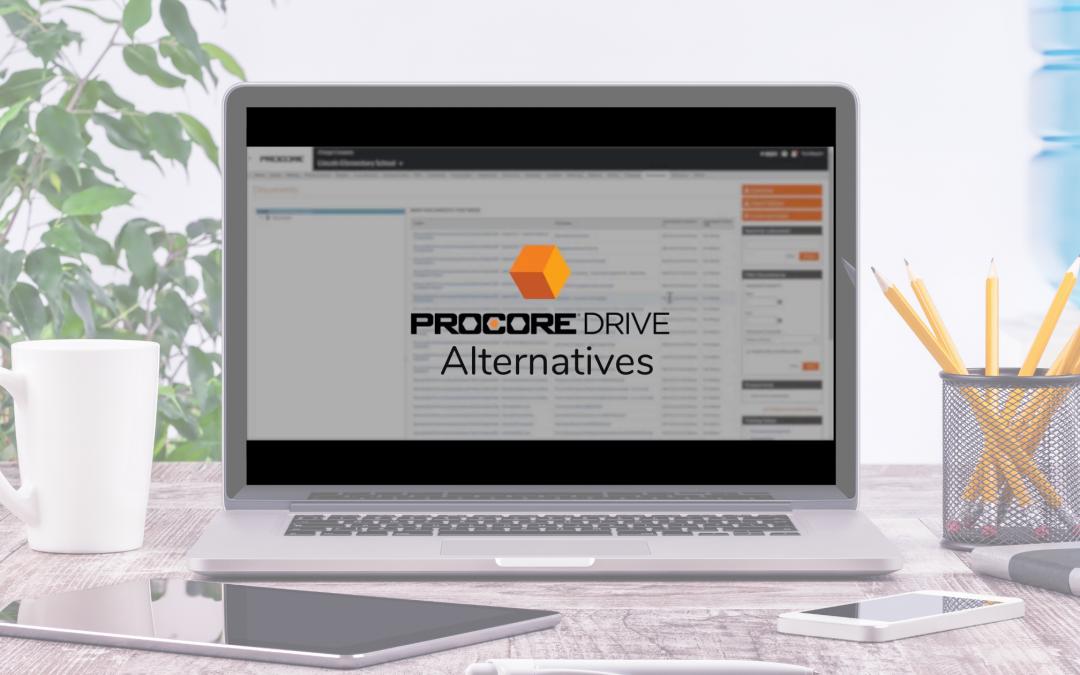 Procore Drive alternatives