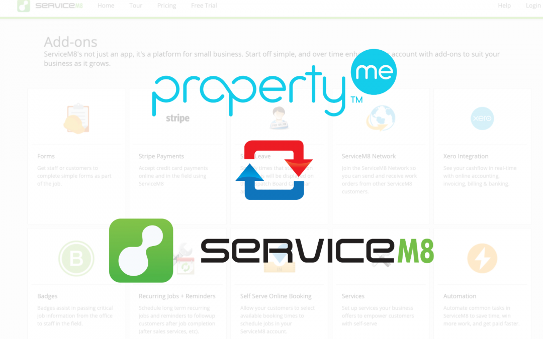 PropertyMe Addon Released on the ServiceM8 Addon Directory